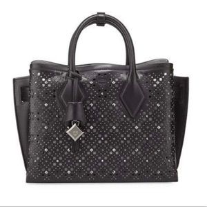 SOLD! MCM Neo Milla Studded Leather Tote